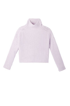 La Vie Ribbed Turtleneck Pullover