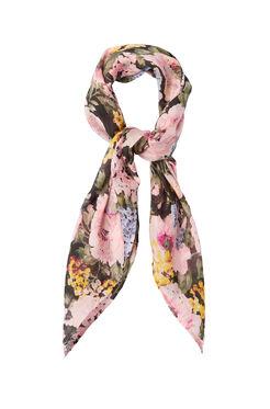 Lavinia Rose Scarf - Black/Camellia