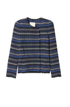 Variegated Tweed Jacket