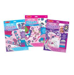 Melissa & Doug Mess-Free Glitter 3-Pack
