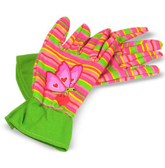 Bella Butterfly Kid's Gardening Gloves
