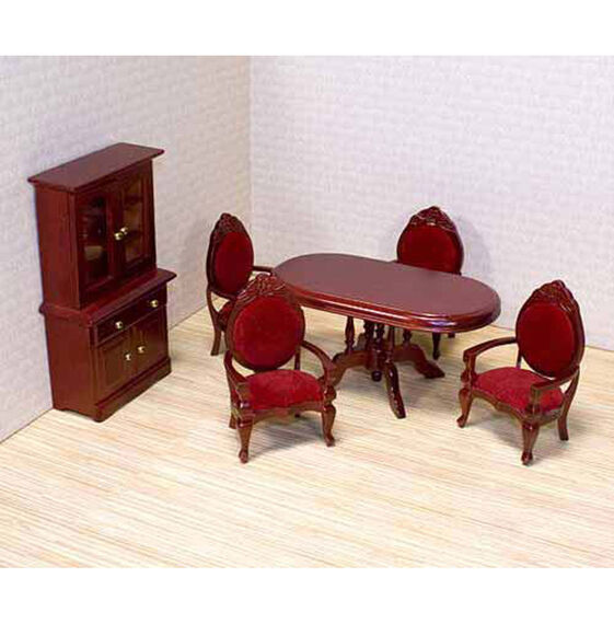 Dollhouse Dining Room Furniture Set Melissa Doug