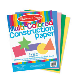 "Multi-Color Construction Paper (9""x12"")"