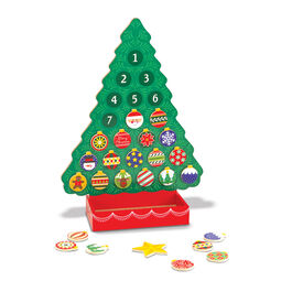 Countdown to Christmas Wooden Seasonal Calendar