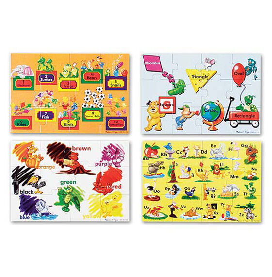 Beginning Skills Floor Puzzle - 48 Pieces