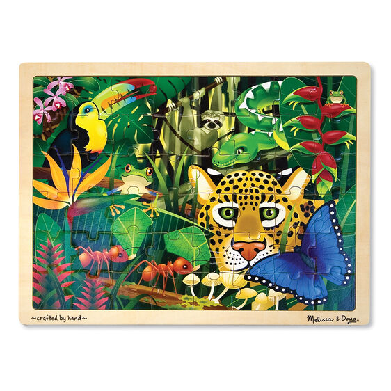 Rainforest Jigsaw Puzzle - 48 Pieces