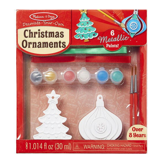 decorate your own christmas ornaments melissa doug On decorate your own christmas decorations