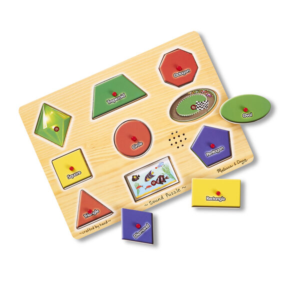 Shapes Sound Puzzle