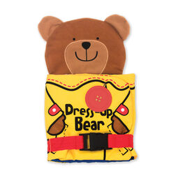 Soft Activity Book - Dress Up Bear