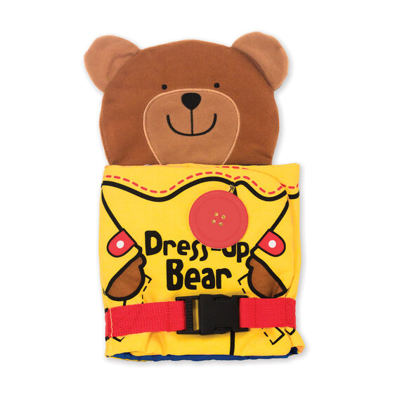 Soft Toys For Toddlers Religious : Soft activity book dress up bear