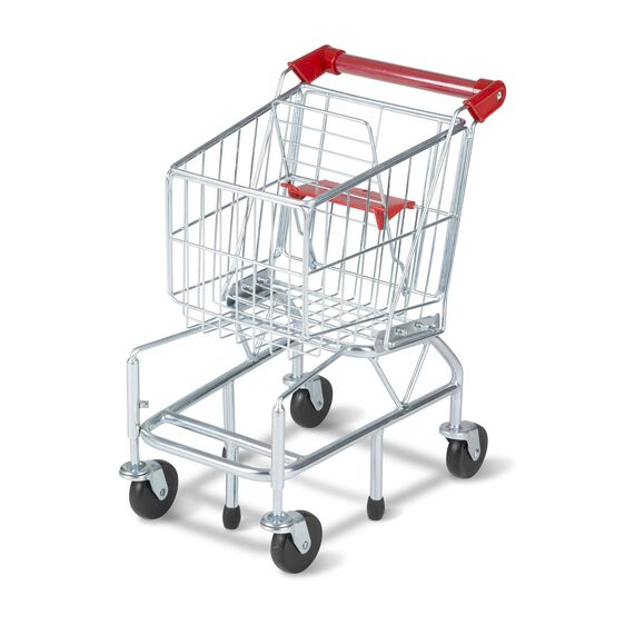 Shopping Cart Toy - Metal Grocery Wagon