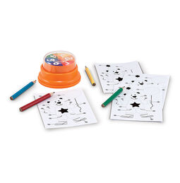 Birthday Bear Press & Spin Game