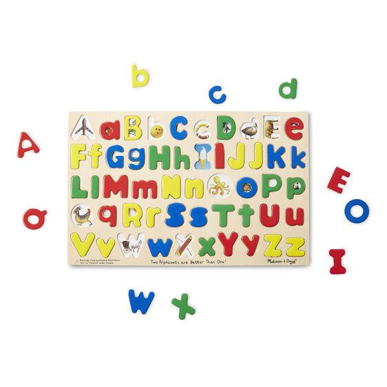 & Lower Case Alphabet Puzzle