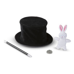 Magic in a Snap - Magician's Pop-Up Magical Hat with Tricks