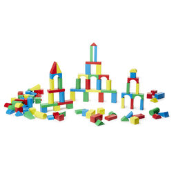200 Piece Wood Blocks Set