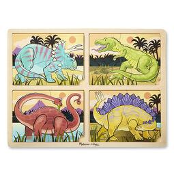 4-in-1 Jigsaw Puzzle - Dinosaur