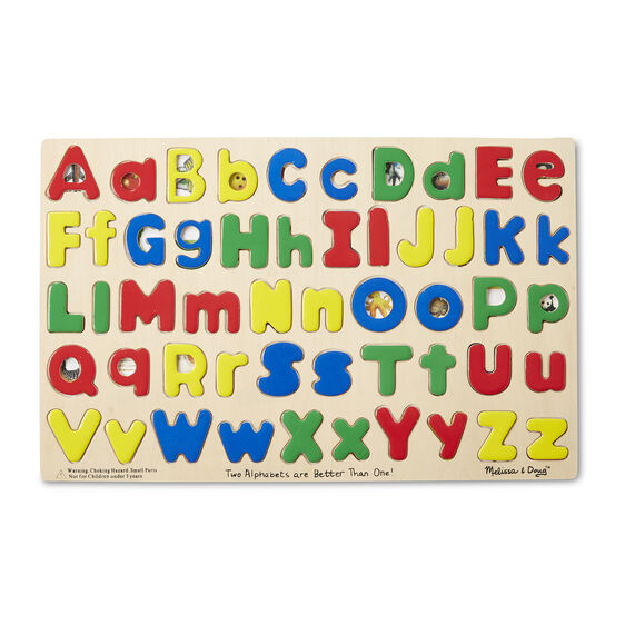Upper & Lower Case Alphabet Puzzle