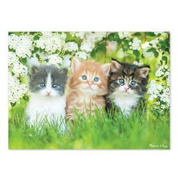 Three Little Kittens 300 piece Cardboard Jigsaw
