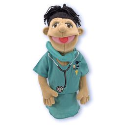 Surgeon Puppet in Scrubs