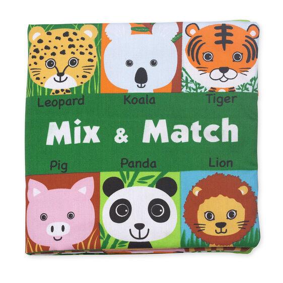 Soft Activity Book - Mix & Match