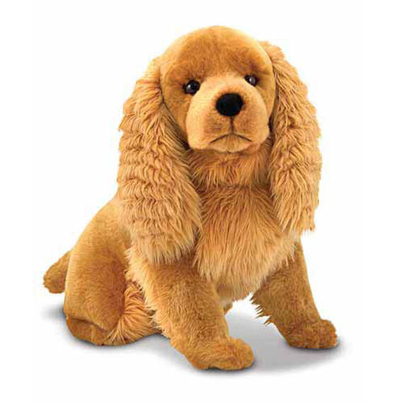 cocker spaniel dog giant stuffed animal. Black Bedroom Furniture Sets. Home Design Ideas