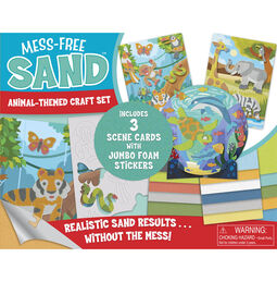 Mess Free Sand - Animal-Themed Craft Set
