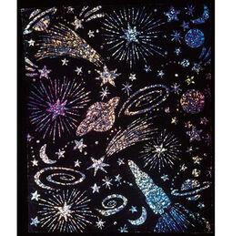 Scratch Art Scratch & Sparkle Glitter Board (30 boards)
