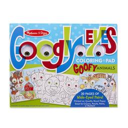 Goofy Animals - Googly Eyes Coloring Pad