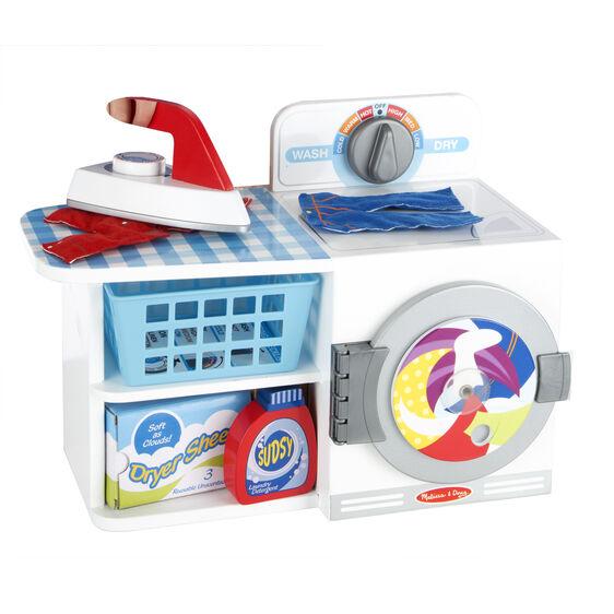 melissa  doug lets play house wash dry  iron