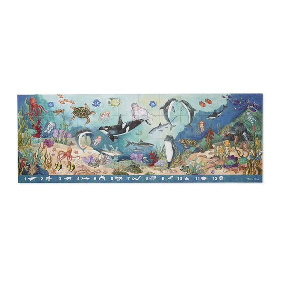 Search & Find Under the Sea Floor Puzzle - 48 pieces