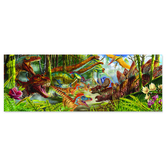 200 piece floor puzzle dinosaur world melissa doug for 100 piece floor puzzles