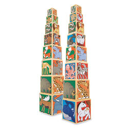 Wooden Animal Nesting Blocks