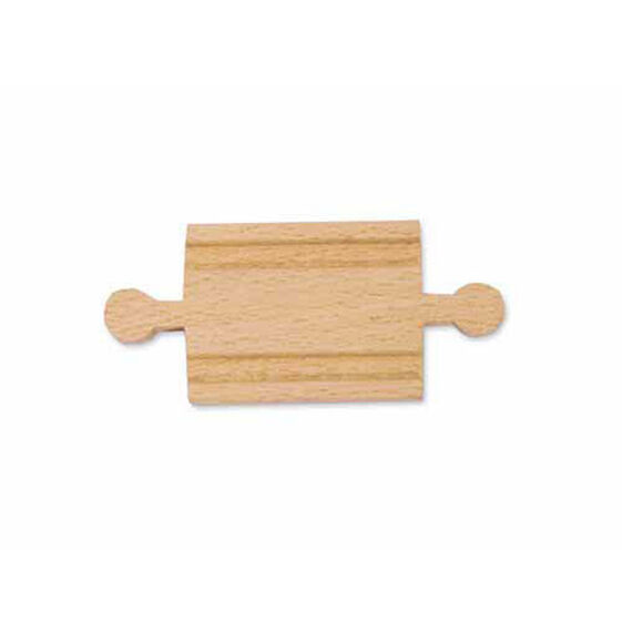 "2"" Wooden Straight Track - Male (6 pack)"