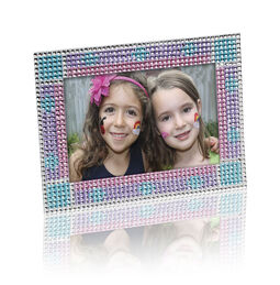 Press-On Rhinestones Picture Frame
