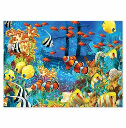 Shipwreck Reef Cardboard Jigsaw - 1500 Pieces