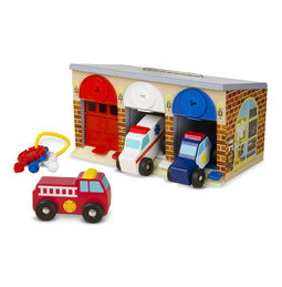 Lock & Roll Rescue Truck Garage
