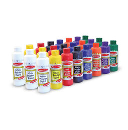 Poster Paint 24 Bottle Value Pack