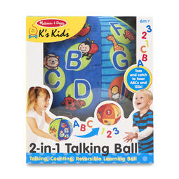2-in-1 Talking Ball Learning Toy
