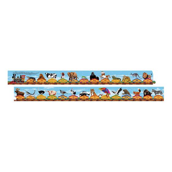 Alphabet Train Floor Puzzle - 28 Pieces