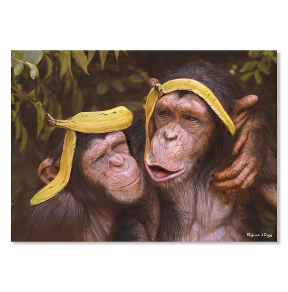 Cheeky Chimps Cardboard Jigsaw - 60 Pieces