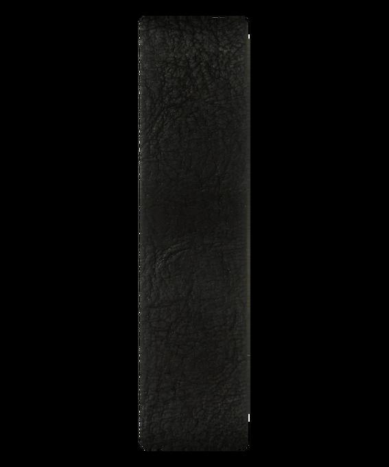 Black Leather Slip-thru Strap  large