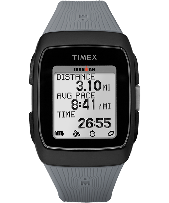 TIMEX IRONMAN GPS - Black/Gray  large