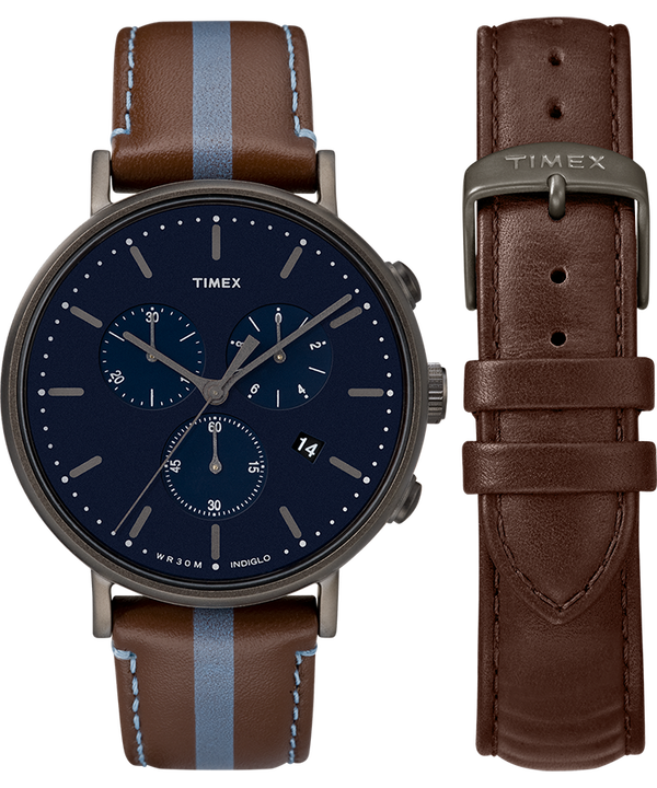 Fairfield Chronograph with Extra Strap  large