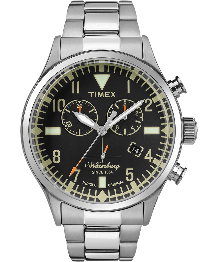 The waterbury chronograph timex us for The waterbury