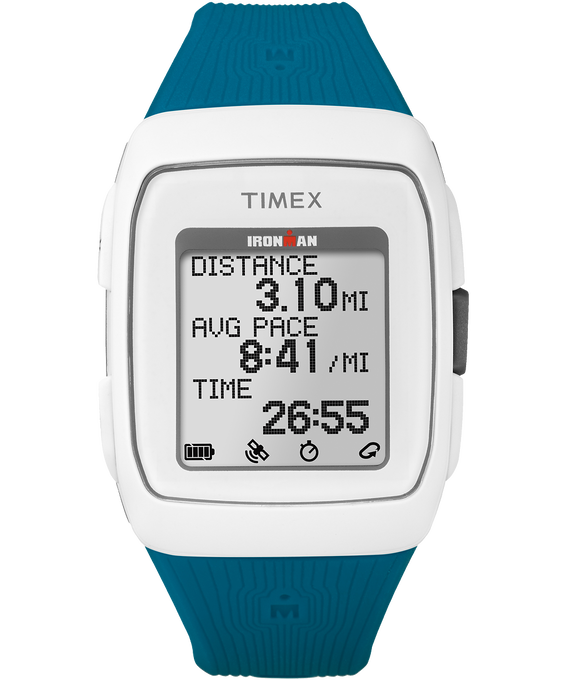 TIMEX IRONMAN GPS WHITE/TEAL  large