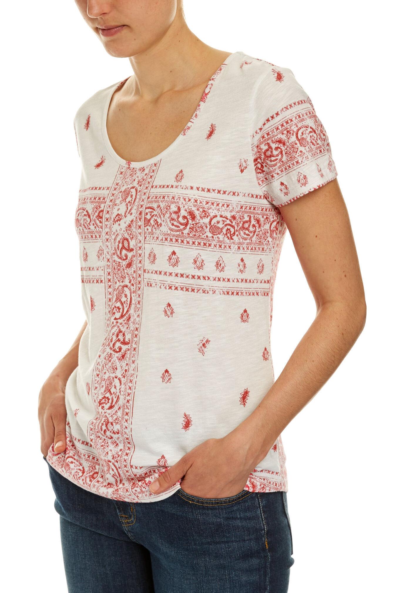 NEW-JAG-WOMENS-Scarf-Print-Tee-T-Shirts