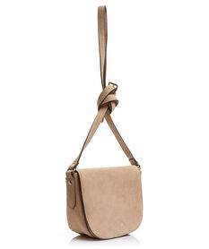 SUEDE SADDLE BAG