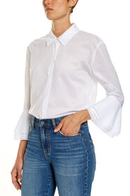 FRILL SLEEVE BLOUSE