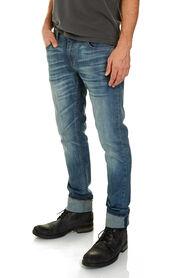 STAN SLIM JEAN - AGED BLUE