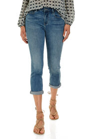 THE CHLOE - HIGH RISE ROLLED CROP